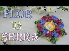 """Flor da Serra - Crochet """"Soraia Bogossian"""" - YouTube"""