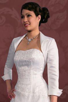 As A Second Focus Of The Wedding, The Bridesmaid Dress(Bridesmaid Bolero  Jackets For