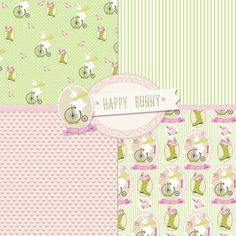 Freebies Easter Post Cards Kit
