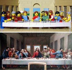 The last supper - Lego