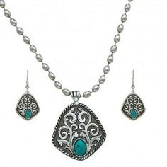 Montana® Vintage Turquoise Drops Jewelry Set