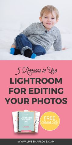 Confused about whether you should first learn LIghtroom or Photoshop to edit your photos? Then check this Lightroom tutorial out and see 5 reasons why you should use Lightroom to edit your photos #lightroom
