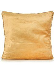 George Home Gold Velvet Cushion 43x43cm