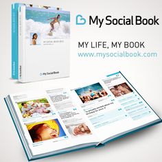 Create a book with your Facebook life with Social Book This is quick.  Fast.  Easy.  And relatively cheap!  A win-win.