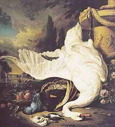 <백조의 죽음> 얀 베이닉스, 로테르담 보이만스 미술관