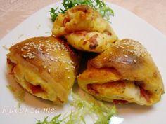 Pizza 'cabbage' rolls
