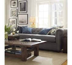 Gojee - Chesterfield Sofa by Pottery Barn
