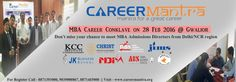 #‎Careermantra‬ offers you the opportunity to meet with ‪#‎MBA‬ admissions officers from top ‪#‎Delhi‬ / ‪#‎NCR‬ business schools ! For registration - 8871393000, 9039000867, 8871456000
