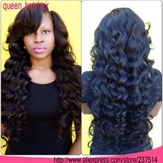 deep side part upart wig - Google Search