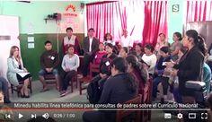 Teresa Clotilde Ojeda Sánchez: MINEDU habilitará línea telefónica gratuita para q...