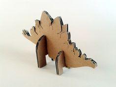 kartonowe dinozaury - 2- 4, Zabawki, karton, tektura, zwierzaki, cardboard, toys, dzieci, kids, dinosaurs