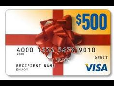 Claim Your Gift Card :--http://bit.ly/Gift-Card-Visas500 it is actually a prepaid card . Funds are loaded onto the card , and the amount of purchases made ??using the card is deducted until the balance is zero. You can use it to make purchases anywhere in the world where Visa is accepted.