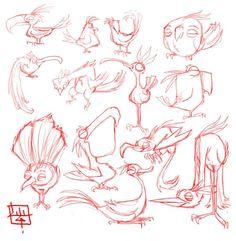 Bird_design_sketches_by_LuigiL