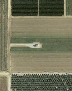 Mishka Henner - API 02914653 Mountain View, CA, 2012 (from Pumpjacks series)