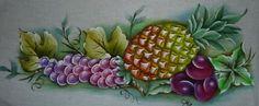 Pintura em Tecido Passo a Passo: Como fazer pintura de abacaxi em tecido