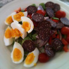 Litt salat til lunsj