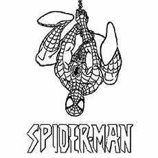 ausmalbilder spiderman zum ausdrucken 01   superhelden