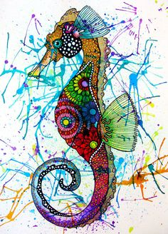 Seahorse by Angel