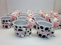 Cow Birthday Cake, Cow Birthday Parties, 1st Birthday Themes, Cowgirl Birthday, Cowgirl Party, Cow Baby Showers, Baby Shower Themes, Teapot Crafts, Cow Decor