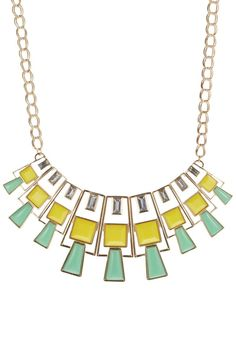 Pieces - MIKALA - Collar - verde