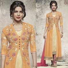 Graceful Yellow Embroidered With Sequins Georgette Celebrity Designer Suit  For Order:- http://www.designersandyou.com/dresses/bollywood-dresses/graceful-yellow-embroidered-with-sequins-georgette-celebrity-designer-suit-4238  Visit For More Designs Available On This:- http://www.designersandyou.com/dresses/bollywood-dresses  View More:  http://www.designersandyou.com/dresses  #Indian #BollyWood  #Dresses #BollyWoodDresses #Fashion #IndianWear #Replicas #BestReplicas #Designersandyou #Design…