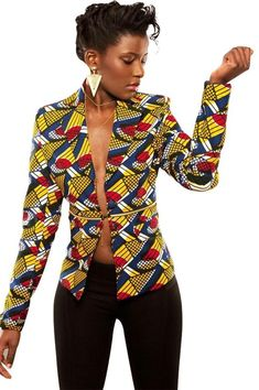 Please pay close attention to sizing measurements (if applicable), as items may run small. Customized sizing available Material: Cotton Brand Name: Shenbolen Model Number: YZ021 Type: African Print Jacket Features: Batik fabric, Zippered midsection