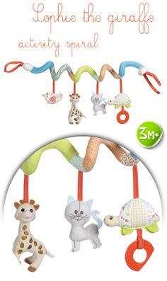 activity spiral   Sophie the giraffe