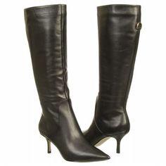 Ivanka Trump Ibis Boots (Black Leather) - Women's Boots - 7.5 M