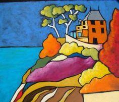 Voir cette oeuvre de fabinonzoli: chateau de saint briac sur mer