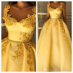 Yellow Vintage 2019 African Evening Dresses Spaghetti A-line Tulle Prom Dresses Sexy Cheap Formal Party Bridesmaid Pageant Gowns - Dresses Fashion Elegant Dresses, Pretty Dresses, Sexy Dresses, Vintage Dresses, Beautiful Dresses, Prom Dresses, Womens Formal Dresses, Formal Gowns, African Evening Dresses