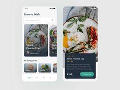 Restaurant App Exploration designed by Rahmadhana Ramadan. Connect with them on Dribbble; Restaurant App, Android Design, Mobile App Ui, Saint Charles, San Luis Obispo, Show And Tell, Ramadan, App Design, Explore