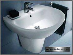 Lavoar Jazz cu piedestal sau semipiedestal Sink, Home Decor, Sink Tops, Vessel Sink, Decoration Home, Room Decor, Sinks, Interior Design, Home Interiors