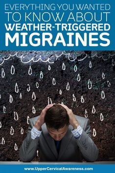 What types of weather conditions can trigger migraines? What can you do to avoid it? We'll answer these questions and provide natural relief option. Chronic Pain, Fibromyalgia, Types Of Migraines, Migraine Cause, Migraine Relief, Migraine Triggers, Migraine Diet, Migraine Pain, Headache Remedies