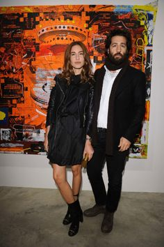 A Parisian in Milan - Ece Sukan and Umit Benan. Photo by Daniele Venturelli/Getty Images.13