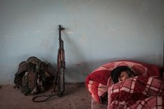 Meet the Kurdish Women Fighting ISIS in Syria - NBC News.com YPJ soldier Shavin Bachouk sleeps early in the morning at an abandoned Iraqi Army post on the outskirts of Raabia, Syria. It is said among the Kurds that their female fighters inspire great fear in the ISIS militants, who believe that if they are killed by a woman they will not go to heaven.