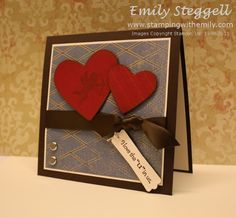I always try to make hand made cards to my hubby! This is super cute!