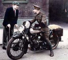 "Capt.' T E ""Lawrence Of Arabia"", Brough Superior was good enough for him,although it was also the cause of his sad demise."
