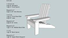 Big Childs Adirondack Chair - plans