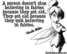 Getting Younger In The Heart - A Five Minute Vacation Peter Pan Nursery, In The Heart, Getting Old, Fairies, Believe, Clip Art, Vacation, Memes, Glass
