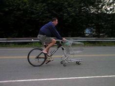 Boodschappen fiets