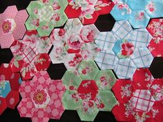 These are lovely hexies.