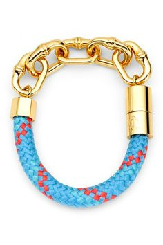 Bamboo Link Rope Bracelet by C. Wonder