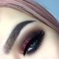 20 Easy Shimmer Eye Shadow Make Up - #makeup #makeupideas #makeover