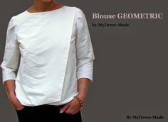 Mydress-made blouse Burda 04/2014 modèle 115