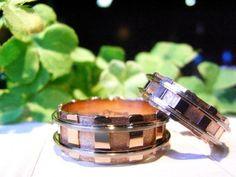 アトリエ遥の結婚指輪|HR-188。 この形に皆様、ビックリ! 詳しくは、2015年2月24日の高崎工房スタッフブログ「本日は定休日です。」でご紹介しています。