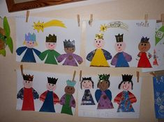 Preschool Christmas, Christmas Crafts For Kids, School Prayer, Activities For 2 Year Olds, Religious Christmas Cards, Three Wise Men, Bible Crafts, Preschool Art, Bible Lessons