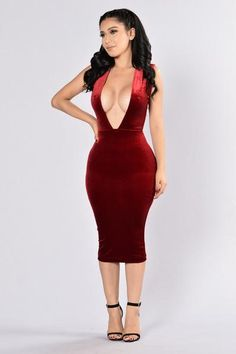 $ 27,99 USD  Southern Charm Dress - Burgundy