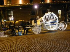 Carriage Ride in the Old Market, Omaha Nebraska