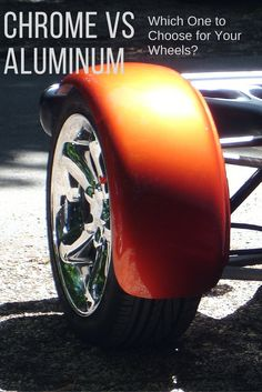 Trying to decide between chrome and aluminum for your car or motorcycle wheels? Discover what makes each finish different