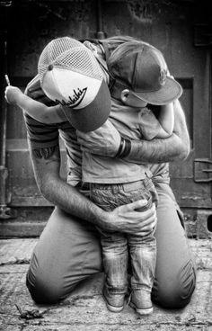 Importante como la relación de padre a hijo tiene que cosechada de la infancia para una mejor relación en el futuro.